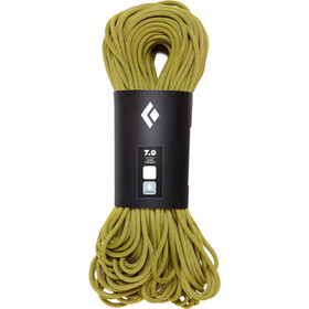 Black Diamond 7.0 Dry Lina 60m, yellow
